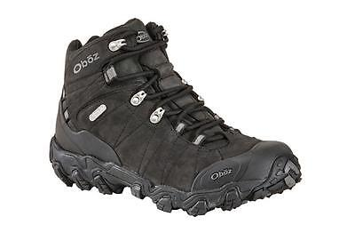 Oboz Bridger Mid BDry Hiking Boot, Mens, Black, 11.0