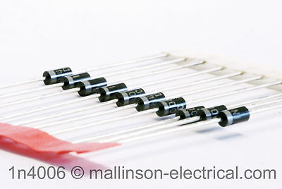 Pack of 10 1N4006 Silicon Rectifier Diodes