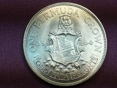 T2: World Coin Bermuda 1964 Crown