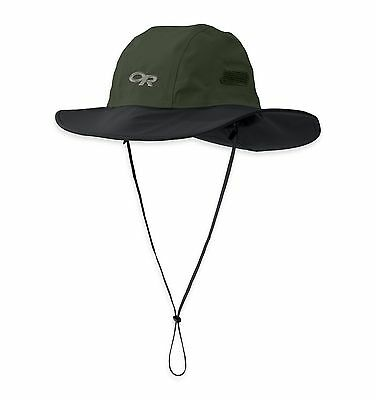 Outdoor Research Seattle Sombrero Goretex Rain - GRNBLK, XL
