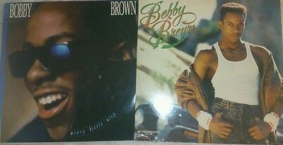 """Bobby Brown ~ """"My Perogative"""" & """"Every little step"""", 12"""" vinyl single record#,"""