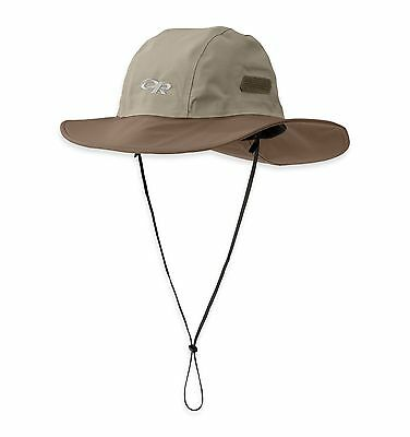 Outdoor Research Seattle Sombrero Goretex Rain Hat Fold Up Brim Floats