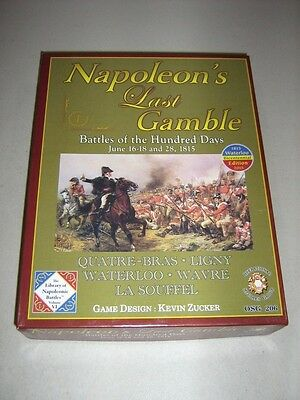 Napoleon's Last Gamble: Battles of the Hundred Days (New)