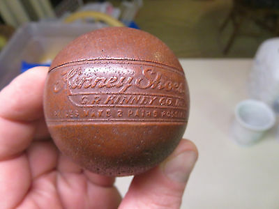 Vintage Kinney Shoes Ball Advertising Piece