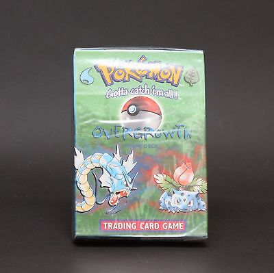 Pokemon Trading Card Game TCG Overgrowth Theme Deck Factory Sealed RARE 1999