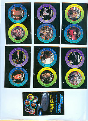 Twelve (12) Star Trek The Next Generation (TNG) Stardiscs - 1994