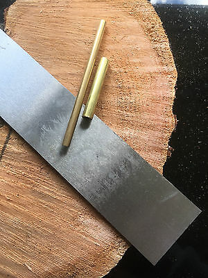 Knife Making Kit for Bushcraft, Hunting - 01 Carbon Tool Steel, G10 or Micarta