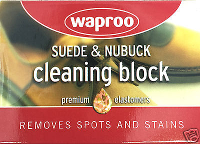 Suede Cleaner -  Removes marks from suede & nubuck Leathers WAPROO