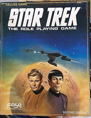 Star Trek The Role Playing Game RPG Second Edition: Deluxe Game #2001