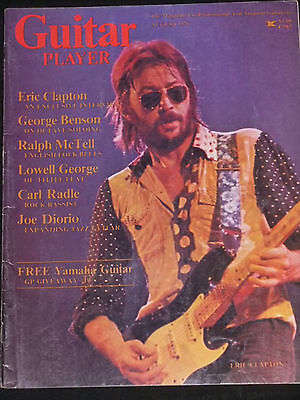 MAGAZINE Guitar Player 1976-08 Eric Clapton Lowell George