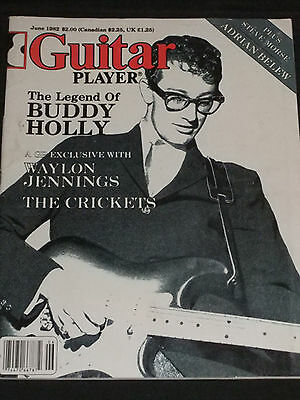MAGAZINE Guitar Player 1982-06 Buddy Holly Adrian Belew King Crimson