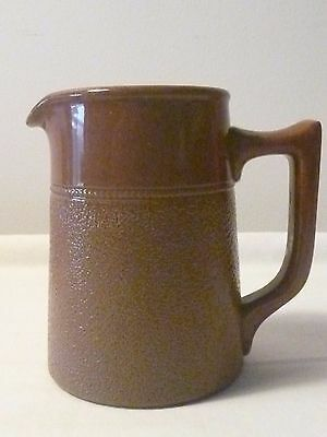Antique Brown jug by R. Fowler Ltd Ca early 1900s