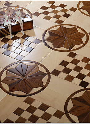 Engineered Parquet Rosewood Flooring Hardwood flooring wood floor Tile Medallion