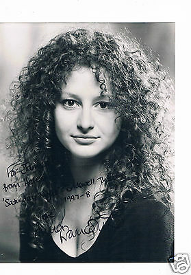 Anna Francolini  Thetare and TV Actress Rome Hand Signed Photograph 10 x 8