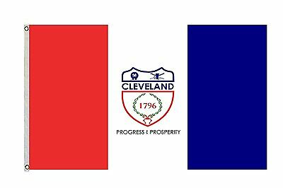 City of Cleveland Flag and Banner Size 3x5 Feet