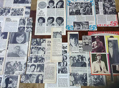 Lot Vintage Clippings ~ THE BEE GEES ~ Maurice ~ Robin ~ Barry GIBB ~ Early Pics