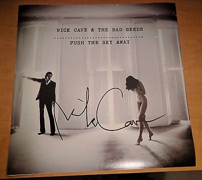 Nick Cave & The Bad Seeds Signed Push The Sky Away 12x12 Album Photo