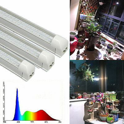 T8 600MM  Full Spectrum White 18W Led Grow Light for Indoor Plant Greenhouse