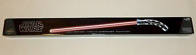 Star Wars ASAJJ VENTRESS - Force FX Lightsaber Hasbro Signature Series Red  NEW