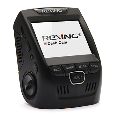 """REXI-V1P-Rexing V1P 2.4"""" LCD FHD 1080p 170 Degree Wide Angle Dual Channel"""