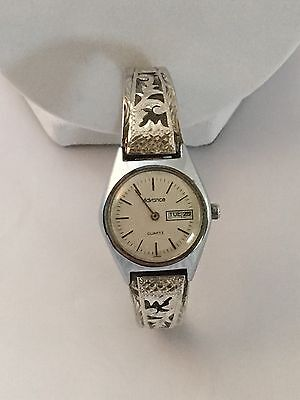 925 STERLING SILVER MEXICO WATCH BAND WITH HALLMARK, 32.91g w/ Advance Watch