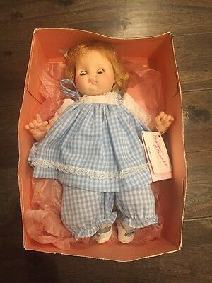 """Madame Alexander Puddin Doll Vintage 14"""" No. 3945 In Box FREE Shipping"""