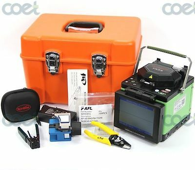 Komshine FX35 Arc Fiber Fusion Splicer w/ Cleaver, Low Splicing Loss 0.01dB