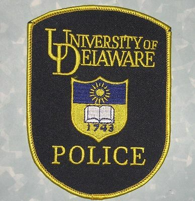 "University of Delaware Police Patch - 3 3/4"" x 5"""