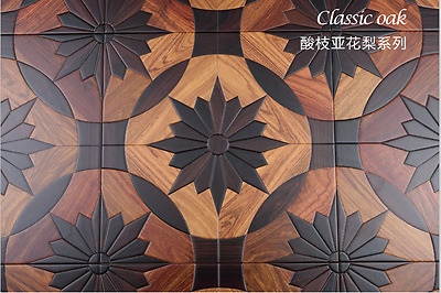 Maple Wood Flooring Tile Art Deco Woodworking Board Wallpaper Hardwood flooring
