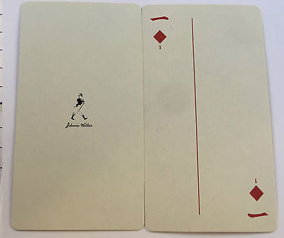 Johinne Walker Scotch Whisky Chinese  playing cards very good condition