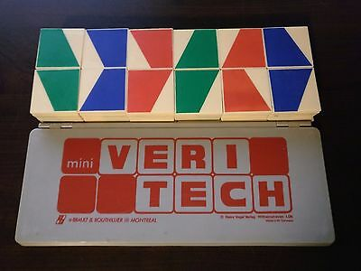Lot of 12 Brault & Bouthillier Mini Veritech Logic Puzzle Game French Francais