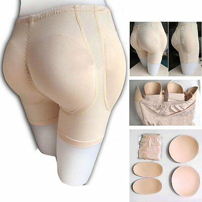 Women Removable Butt Hip Padded Enhancer BoyShort Shaper Lifter Panty Underwear