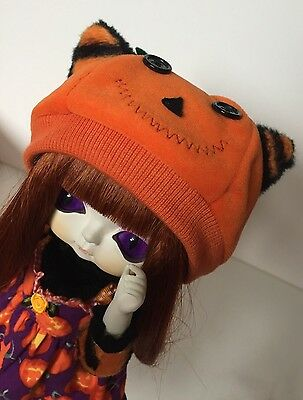 Adorable Toffee Pumpkin Vampire Doll, Huckleberry Toys, Perfect for Halloween!