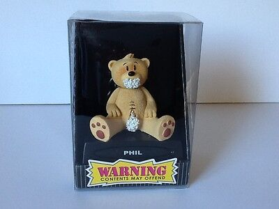 ☆ BAD TASTE BEARS ☆ PHIL ☆ NEW ☆ in non mint Packaging ☆