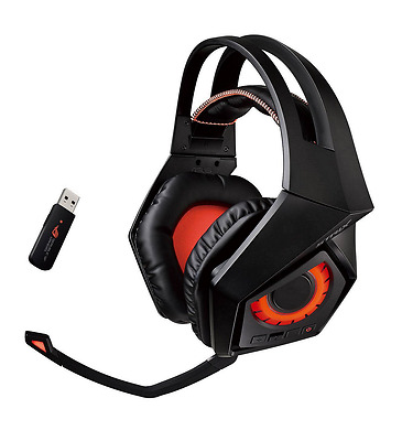 ASUS ROG Strix Wireless gaming headset with 7.1 surround sound TS