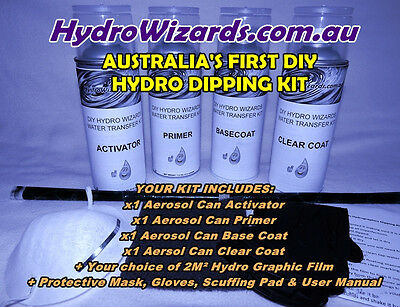 Hydrographic Water Transfer Printing Kit Hydrographic Print Kit - DECORATIVE
