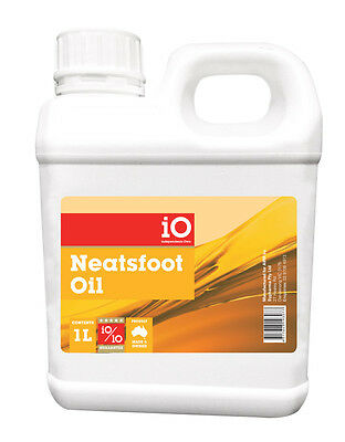 Independents Own iO Neatsfoot Oil Leather Care & Restore  500ml - 5 Litres