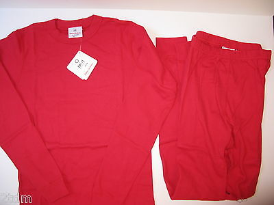 NWT Kids Boys Girls Hanna Andersson Christmas Red Pajamas Size 160 New