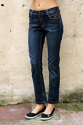 9.2 by CARLO CHIONNA KIDS DARK BLUE DENIM JEANS STRAIGHT 14 Years  Ladies Uk 10