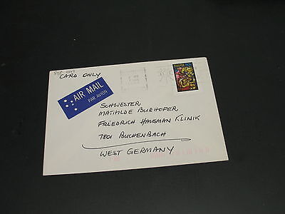 Australia 1984 airmail cover to Germany *2649
