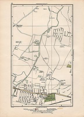 1923 London Street Map - Mount Pleasant, Southall, Dormer's Wells,