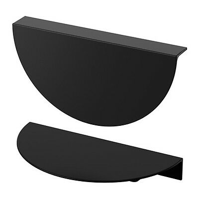 IKEA Handle TOSTERUP For Wardrobe & Cupboard Handle Black 2 pack 190 mm