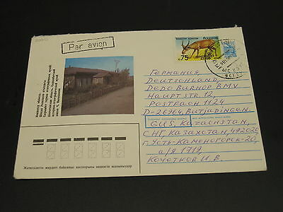 Kazakhstan 1996 cover to Germany *2060