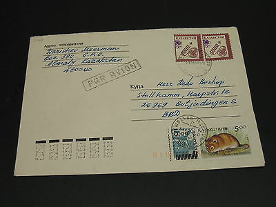 Kazakhstan 1998 cover to Germany *2061