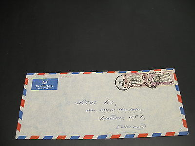 Nigeria 1960 airmail cover to UK *22037
