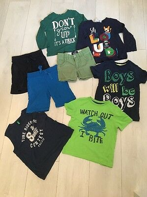 Boys 3-4 Years Summer Clothes Bundle