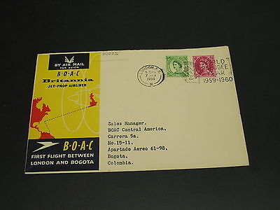 UK 1960 first flight cover *20225