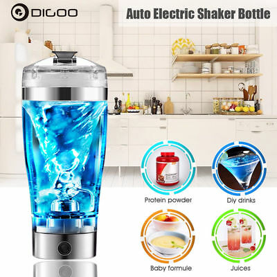 Digoo 450ML Portable Electric Blender Vortex Protein Shaker Detachable Mixer Cup
