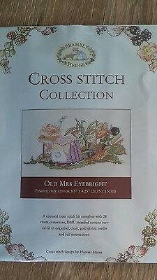 NEW Brambly Hedge counted cross stitch kit OLD MRS EYEBRIGHT..Free Postage!!