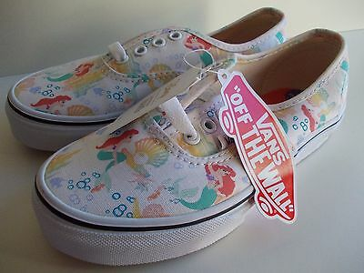 The Little Mermaid disney ariel vans uk 1 rare sold out NEW WITHOUT BOX